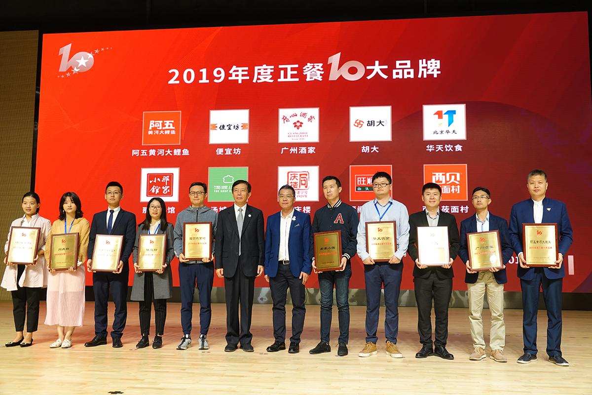 bwin手机网页荣膺2019年度餐饮业10大品牌